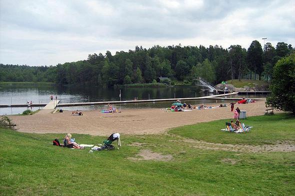 Campingplass Rösjöbaden