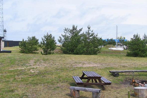 Leirintäalue Pavilosta Marina