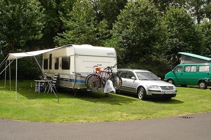 Caravan Club Site Abbey Wood