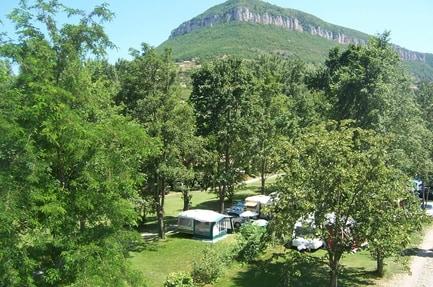Campingplass Huttopia Millau