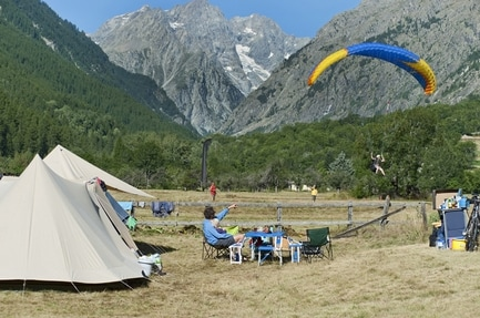 Camping Huttopia Vallouise