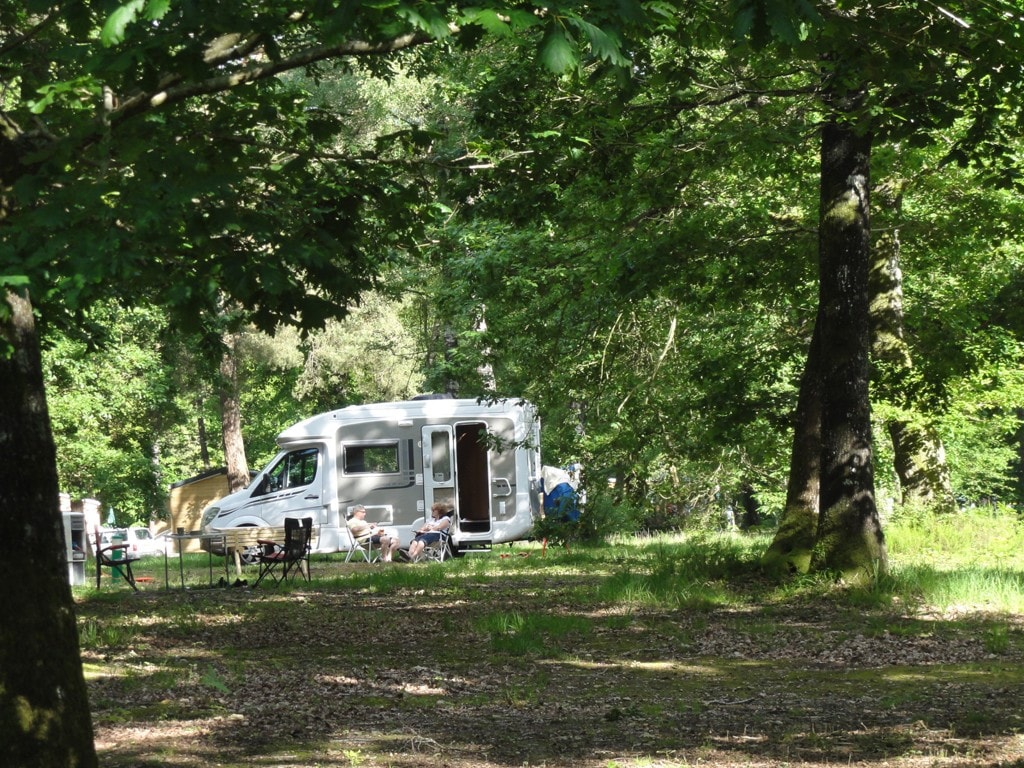 Campingplass Huttopia Lac de Sillé