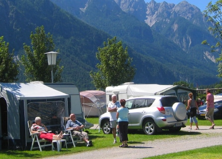 Doorreiscampings