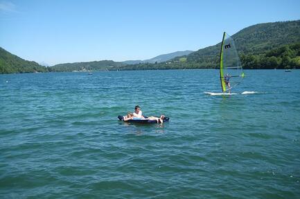 Leirintäalue Au Pré du Lac