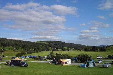 Camping Hawkshead Hall Farm