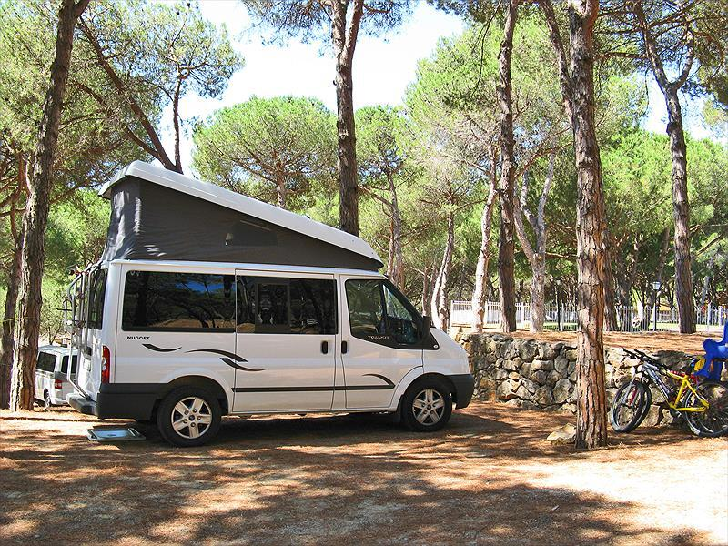 Campsite Cala Montgó