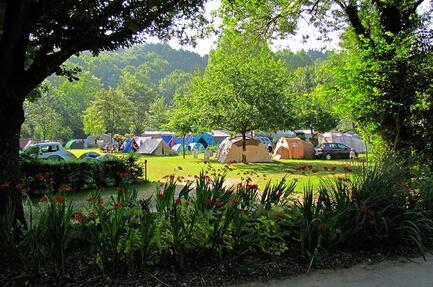 Campsite La Vallée de Poupet